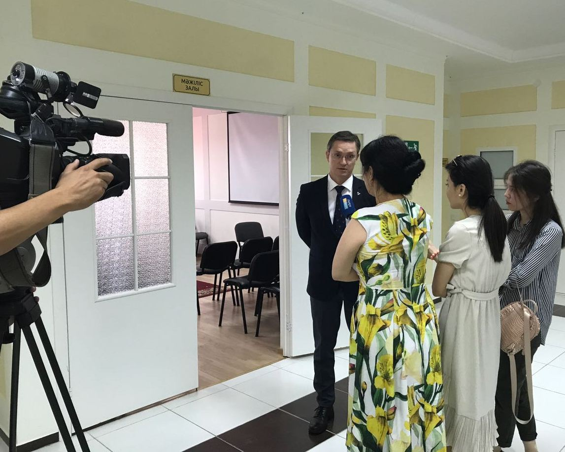 Federal Center of Astrakhan Will Serve as a Base for the Training of Atyrau Experts