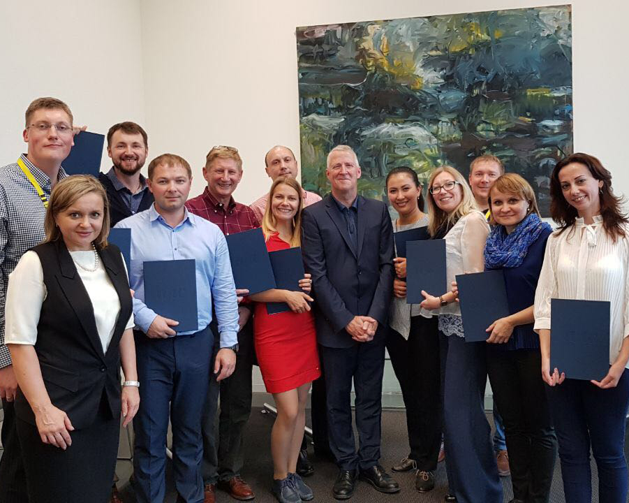 Experts of the Center received international certificates of the Swiss Business School FHNW