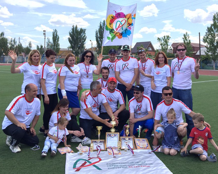 The team of the Center has become the most active on the result of the regional sports contest